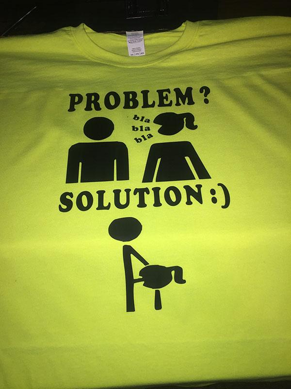 Problem ... Solution